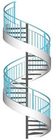 Calcul escalier colimacon for Calcul escalier helicoidal