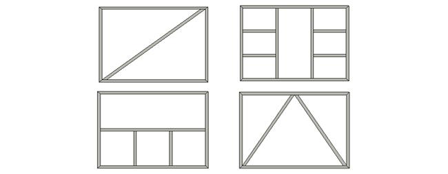 Plan portail logiciel de plans de portails dao cao - Cadre portail coulissant ...